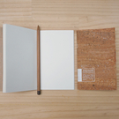 BALANCE WU DESIGN SOWOOD 軟木手札-小 筆記本《小婷子》