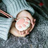 迷你暖風機 取暖機貓爪USB暖手寶女可充電迷你小巧充電寶兩用維多可愛可擕式防爆移動Igo 免運