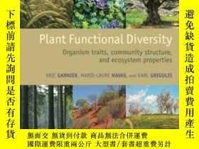 二手書博民逛書店Plant罕見Functional DiversityY364682 Eric Garnier Oxford