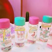 水杯  新款卡通日系原宿少女心可愛動物玻璃杯學生便攜隨手杯水杯果汁杯