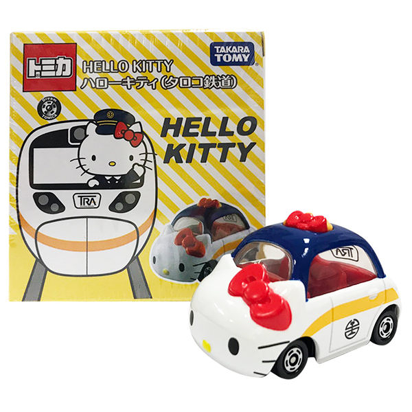 【震撼精品百貨】Hello Kitty 凱蒂貓~Dream TOMICA 特注車 太魯閣KITTY#88726