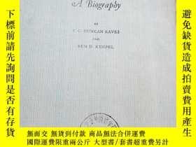 二手書博民逛書店Samuel罕見Richardson A BiographyY2