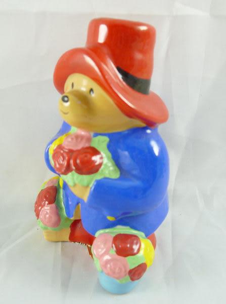 【震撼精品百貨】Paddington _柏齡熊~造型陶瓷置芳香劑瓶『拿花』