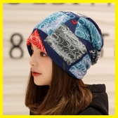 帽子女春秋款時尚套頭帽頭巾帽韓版保暖透氣月子帽產后堆堆帽睡帽