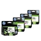 【四色一組】HP NO.909XL+NO.905XL 原廠墨水匣 盒裝 適用6960 6970