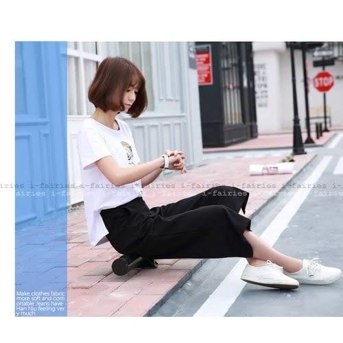 5天出貨★短袖T恤 卡通人物印花上衣★ifairies【40366】