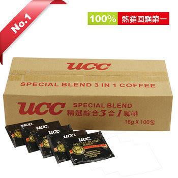 UCC 精選綜合三合一咖啡16g*100入【愛買】
