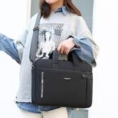 單肩包筆記本電腦包15.6英寸背包14寸華碩內膽包蘋果mac 時尚小鋪