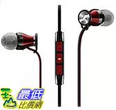[106 美國直購] Sennheiser B00N3RFFV6 黑紅 入耳式耳機 Momentum In-Ear (Android version)