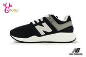 New Balance 247 中童運動鞋 男女童 鬆緊帶 慢跑鞋 O8426#黑色◆OSOME奧森童鞋