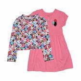 Carter s卡特 薄外套+包屁裙短袖洋裝套裝二件組 多色花朵 | 女寶寶 | 北投之家童裝【CA121I187】