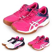 ASICS GEL-COURT HUNTER 女羽球鞋-2E(免運 寬楦 亞瑟士≡體院≡ 1072A015