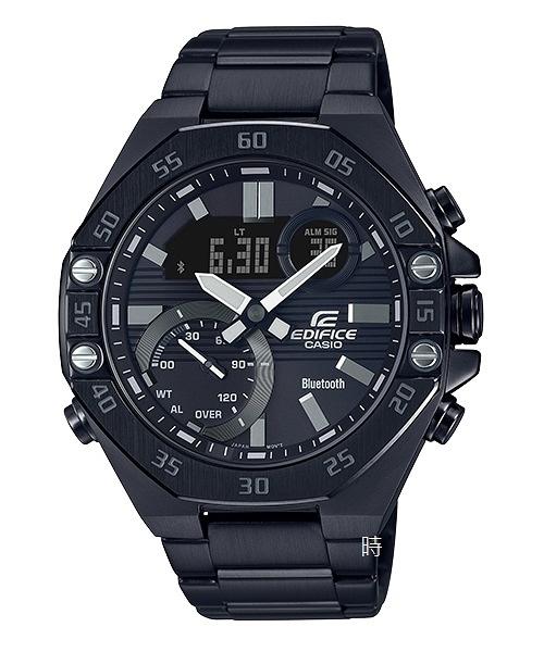 CASIO 卡西歐 八角 藍芽智慧 手錶 ECB-10DC-1A