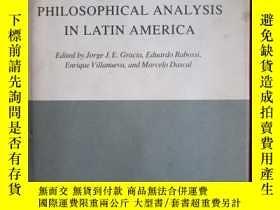 二手書博民逛書店Philosophical罕見Analysis in Latin