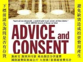 二手書博民逛書店Advice罕見And ConsentY364682 Lee Epstein Oxford Universit