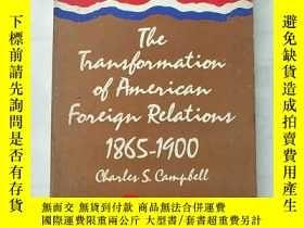 二手書博民逛書店the罕見transformation of american foreign relationsY8495