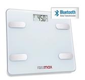 優盛rossmax藍牙體重體脂計LS212-B,兩年保固,贈3D立體防塵口罩2盒(顏色隨機,送完為止)