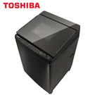[TOSHIBA 東芝]17公斤 鍍膜奈米泡泡雙渦輪洗衣機 AW-DMUH17WAG