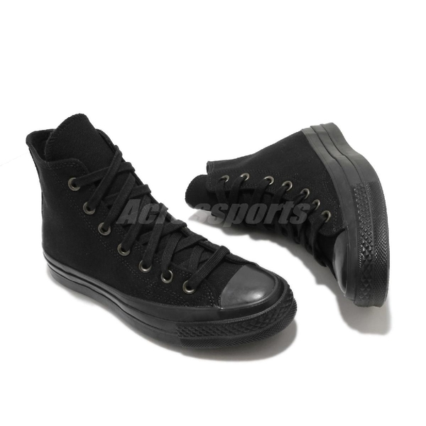 Converse 休閒鞋 Chuck Taylor All Star 70 黑 全黑 男鞋 女鞋 帆布鞋 運動鞋 【ACS】 168928C