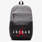 NIKE Air Jordan 背包 休閒 15吋筆電 大容量 灰 黑【運動世界】JD2023005GS-002
