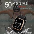 兒童電子手錶防水LED韓版學生青少年時尚潮流方形簡約運動男女孩-完美
