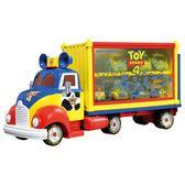 TOMICA 玩具總動員四 TS4玩具總動員收納車(不含小車) DS13362夢幻迪士尼小汽車