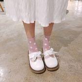 2018春季軟妹可愛女鞋小皮鞋蝴蝶結日系洛麗塔學生娃娃鞋仙女鞋子