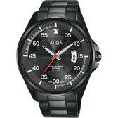 ALBA 雅柏 主張自我原創手錶-鍍黑/44mm VJ42-X268SD(AS9H41X1)