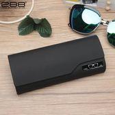 E88太陽大號墨鏡盒男女學生韓國潮流簡約個性皮質便攜近視眼鏡盒 聖誕節交換禮物