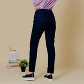 【中大尺碼】MIT創意撞色打棗牛仔褲