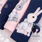 貼鑽蝶結蕾絲兔內搭褲(260127)★水娃娃時尚童裝★