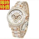 鑽錶-經典休閒好搭女手錶4色5j55[巴黎精品]
