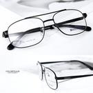 光學眼鏡 質感細方框黑鏡框NYA50