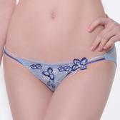 【LADY】天堂樂園系列 低腰三角褲(天空藍)
