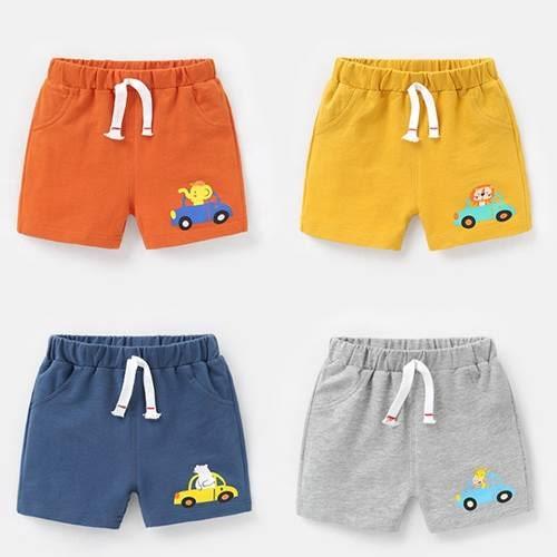 嬰兒夏季短褲 夏季男女童卡通大PP褲