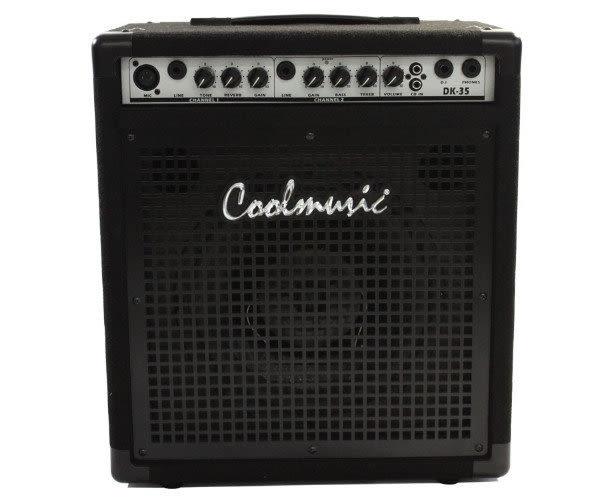 【金聲樂器廣場】全新 CoolMusic DK-35多功能樂器音箱 /所有領域皆適用 / 全音域音箱