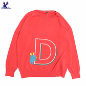 【秋冬降價款】American Bluedeer - 字母D針織上衣(魅力價)  秋冬新款