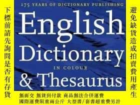 二手書博民逛書店Collins罕見Dictionary And Thesaurus (doctionary thesaurus)奇