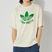 Adidas TRFOIL STAN TEE 男 白綠 三葉草 休閒 短袖 GQ8874