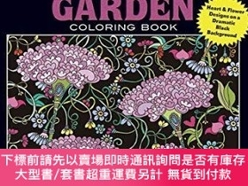 二手書博民逛書店Creative罕見Haven Midnight Garden Coloring Book: Heart & Fl