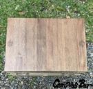 丹大戶外【Campingbar】原木兩片式桌板 收納箱專用木桌板 折疊側開收納箱適用 T002 桌子│木桌