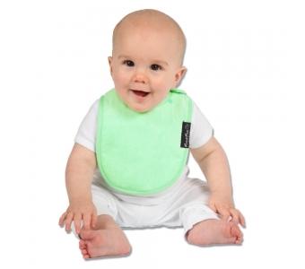 紐西蘭 Mum 2 Mum 機能型神奇口水巾圍兜-初生款-薄荷綠 吃飯衣 口水衣 防水衣