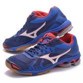 樂買網 MIZUNO 18SS 進階款 男排羽球鞋 WAVE BOLT 7 V1GA186027 贈防撞護膝