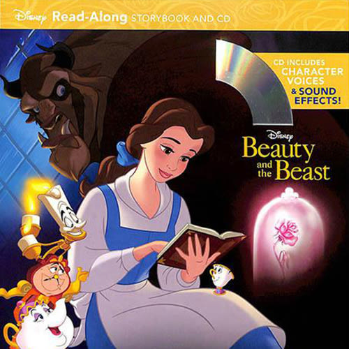 Beauty And The Beast Read-Along Storybook And CD 美女與野獸 有聲讀本 (一平裝繪本+一CD)