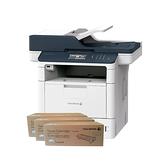 FujiXerox DocuPrint M375z 黑白無線雙面傳真雷射多功複合機 搭三支CT203109原廠碳粉匣