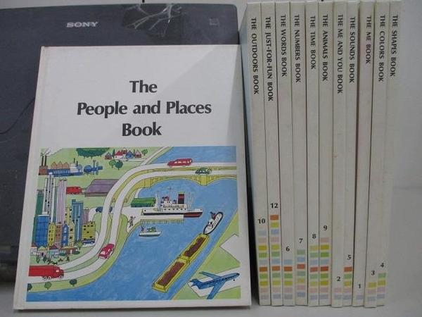 【書寶二手書T3/少年童書_RDW】The People and Places Book_The Me Book等_共1