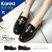紳士.金屬方飾紳士鞋-FM時尚美鞋-韓國精選.lightly