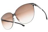 Ic! Berlin太陽眼鏡 SWING TEAK (霧棕-漸層棕鏡片) 簡約質感框 德國薄鋼工藝 墨鏡 #金橘眼鏡