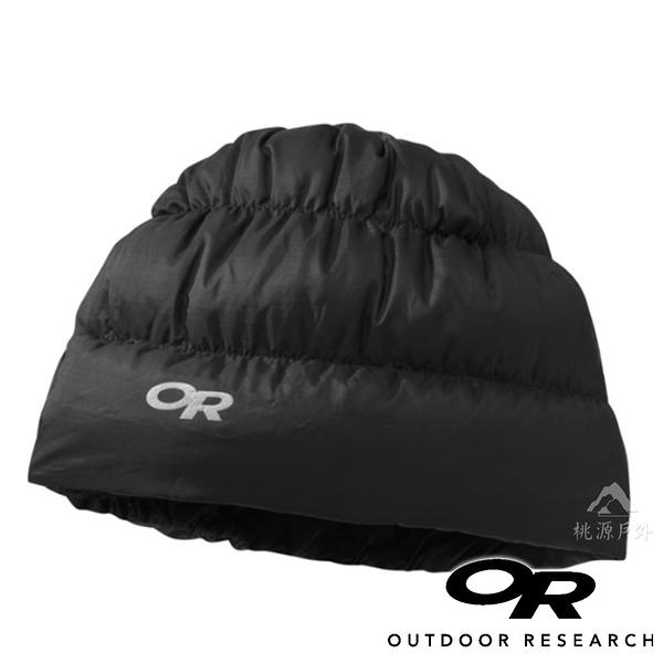 【OR 美國】Outdoor Research Transcendent 輕量透氣保暖羽毛帽『黑』243485 登山.露營.保暖帽.帽子