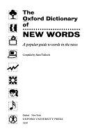 二手書《The Oxford Dictionary of New Words: A Popular Guide to Words in the News》 R2Y ISBN:019869170X